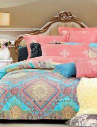 Комплекты постельного белья ткань Сатин