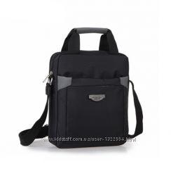Стильная мужская сумка из нейлона. Размер 31-27-8 см