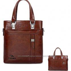 Стильная мужская сумка Fettenisi. Размер 31-28-7 см
