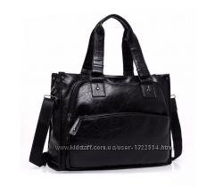 Стильная мужская дорожная сумка. Размер 42-32-12, 5 см
