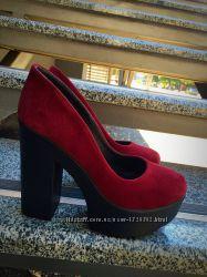 Кожаные и Замшевые туфли в Наличии