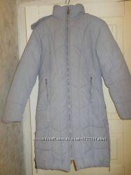 Пальто пуховик серый L 48- 50