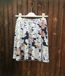 Новая юбка с нежной весенней расцветкой m, l, xl от asos