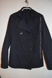 Куртка короткий плащ sisley
