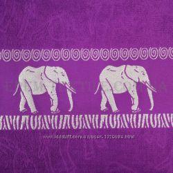 Махровые простыни 100 хлопок, с орнаментом