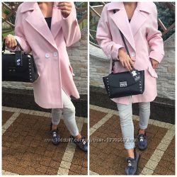 Красивое элегантное женское пальто жакет кашемир недорого короткое