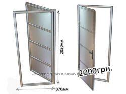 Двери металлические, подвальные Ворота гаражные