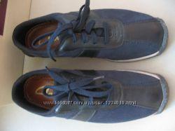 Новые кроссовки, мокасины туфли Clarks Кларкс, кожа, оригинал