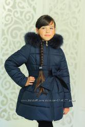 Куртка Изабелла зимняя синяя