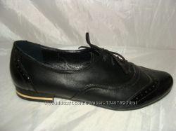 Туфли-мокасины женские кожа 38, 40