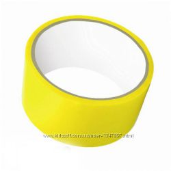 Липкая лента желтого цвета