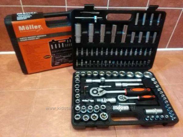 Набор инструментов из 108 элементов M&252ller Professional