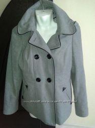 Осеннее пальто New look. UK12. EUR40, наш 46-48