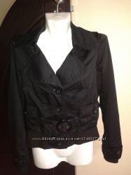 Стильная осенняя куртка фирмы Vero Moda. S-М, черная. Оригинал
