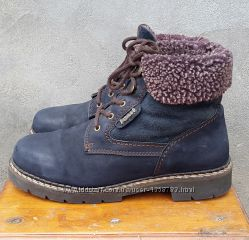 Кожаные ботинки полуботинки Fun & Co 39, 5-40 р.
