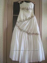 Новое свадебное платье, р. 42-46