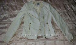 Куртка косуха белая р. 42 евро 8, S