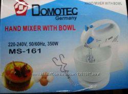 Миксер ручной с чашей Domotec 350 Вт