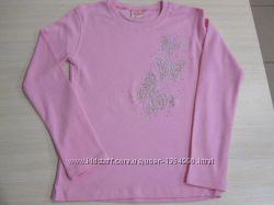 Батнік розовий для дівчинки