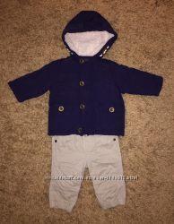 Фирменный комплект куртка и штанишки 0-3 мес