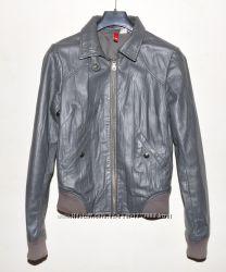 Куртка натуральная кожа DIVIDED XS-S мягкая кожа