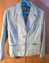 Пиджак натуральный замш