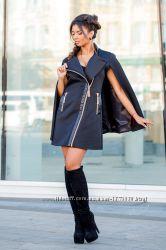 Модное пальто-кейп