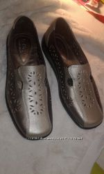 новые кожаные английские туфли. размер 36 стелька 23, 5см