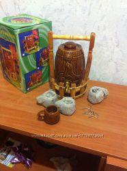 Керамический бочонок сувенир для вина