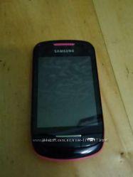 Новый телефон SAMSUNG GT-S3850 розовый
