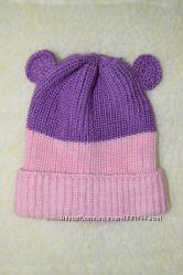 Теплая шапочка для малышки