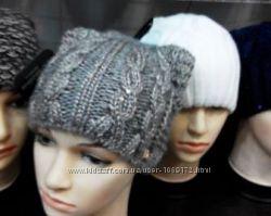 шапка с ушками новая