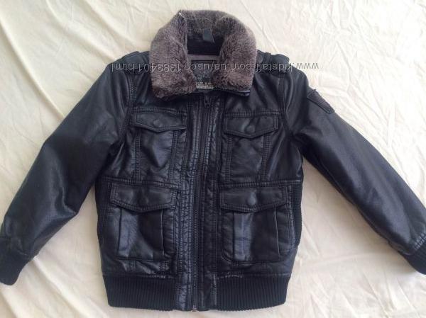 Куртка ZARA для мальчика 6 лет118см