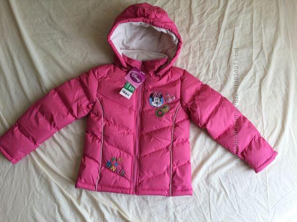 Деми куртка DISNEY для девочки 8 лет 128см