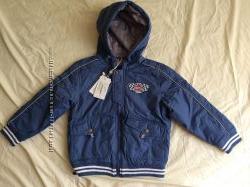 Деми куртка SELA для мальчика 5 лет