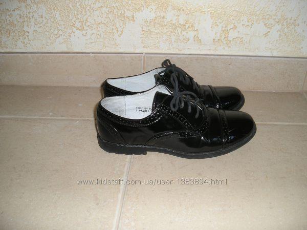 Туфли для девочки TM Arial.  Школьная коллекция.