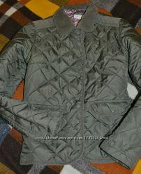 брендовая стеганая куртка