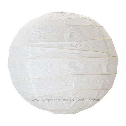 Під викуп Модний плафон Ikea Regolit з рисового паперу Икеа