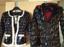 Куртки женские новые балон -лак