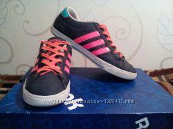 Женские кеды Adidas Neo  адидас  37 размер  длинна по стельке 23, 5 см