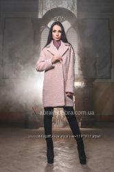 Пальто шерстяное женское прямого кроя