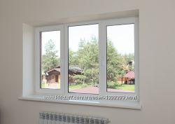 ПВХ  окна, металлопластиковые WDS, Aluplast, Kbe, Kommerling