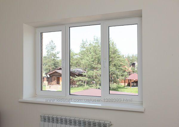 ПВХ  окна, металлопластиковые WDS, K&OumlMMERLING
