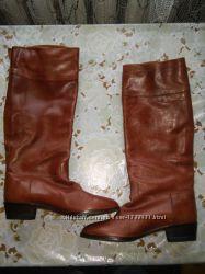 Сапоги кожаные Semelle 37