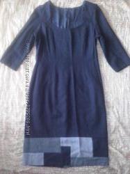 цена упала Шикарное черное  платье на размер М Л