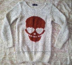цена упала Шикарный свитер свитшот размер С-М