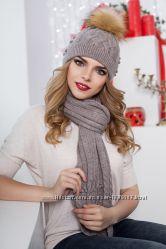 Комплект Sabrina от производителя шапкашарф