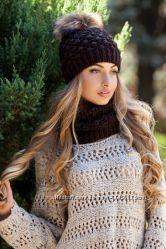 Комплект Ananas шапка шарф