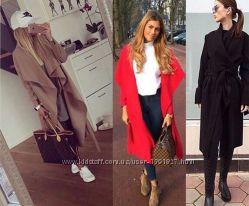 Легкие осенние пальто из кашемира, 3 цвета