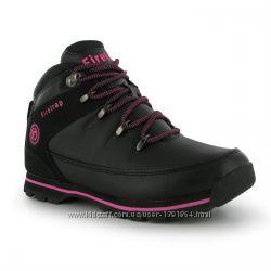Ботинки ЧерныеРозовые Firetrap 6 39